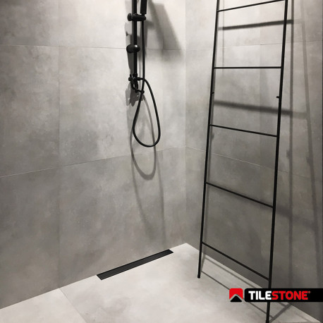Tilestone Smart Drain Zwart - 70cm