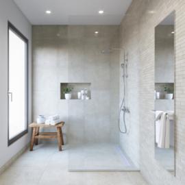 DIY - Remove calcium deposits on ceramic tiles