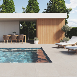 Ceramic pool borders for the perfect finish